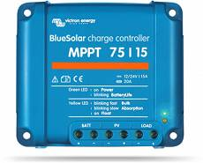 REGULATOR MPPT BLUE SOLAR 75/15, 10/10A 12V/24V, 48803