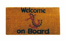 WYCIERACZKA WELCOME ON BOARD 25X50 CM 01334