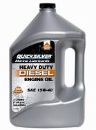 Olej Quicksilver Heavy Duty Diesel Engine Oil 4L  46863